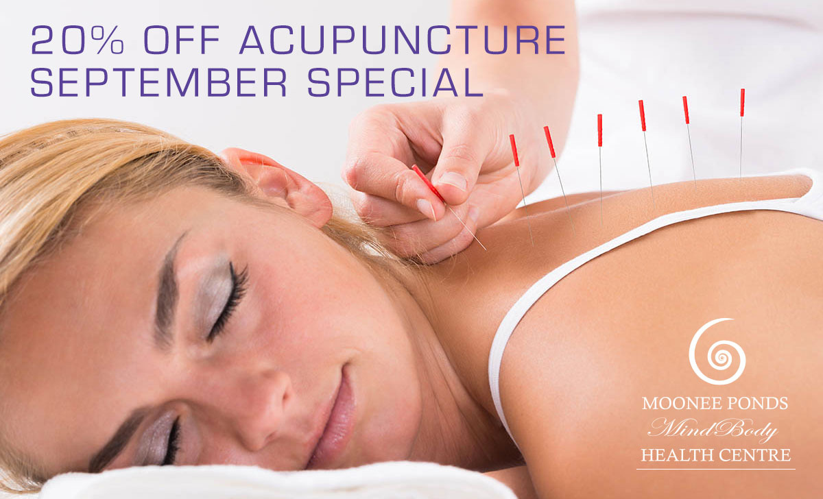 Spring Special: Don't Miss 20% Off Acupuncture Treatment ...